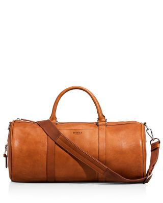 d269137177f4b Carry the day with this luxe leather duffel bag from Detroit s-own Shinola.