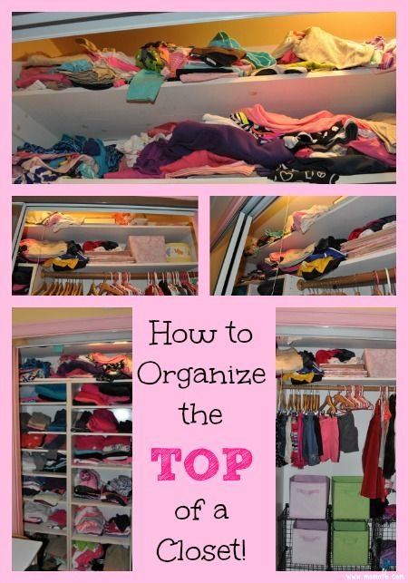 How To Organize The Top Of A Closet Organization Organization Bedroom Household Organization,Bloody Mary