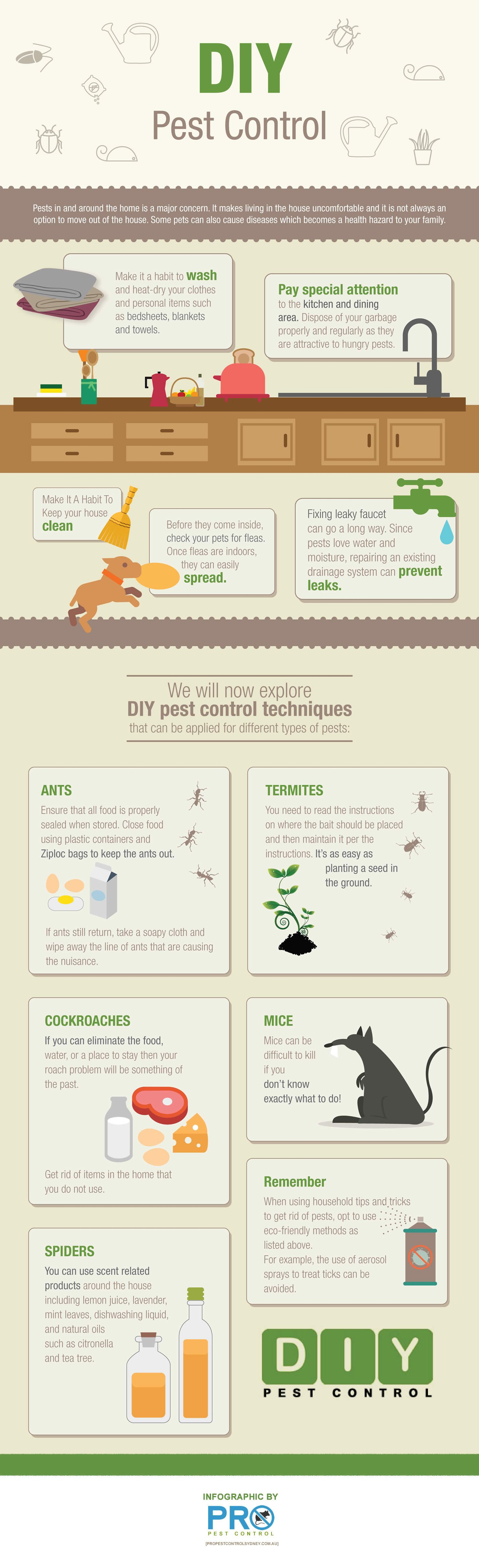 Diy Pest Control Supplies Secrets To A Pest Free Home Infographic Diy Ideas Infographics