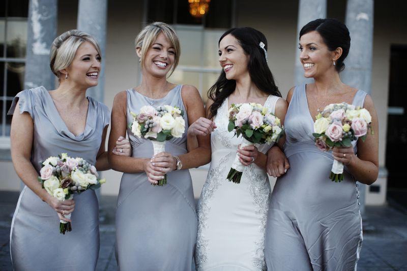 A wintery black tie wedding at castlemartyr in ireland