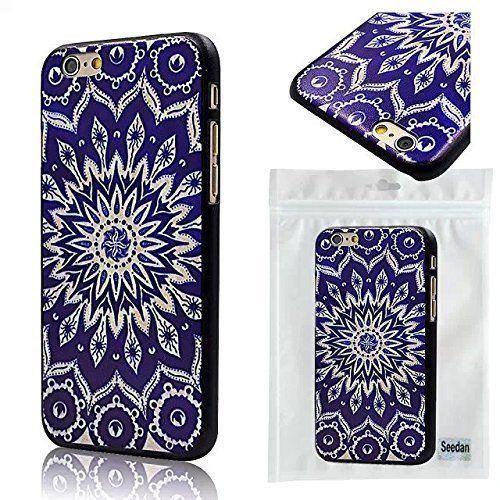 Seedan Slim Pc Hard Back Case for Iphone 6 4.7 Inch Blue Decorative Pattern Smooth Skin Cover Protector, http://www.amazon.com/dp/B00NHNN47I/ref=cm_sw_r_pi_awdm_fHAdvb0WWQK28