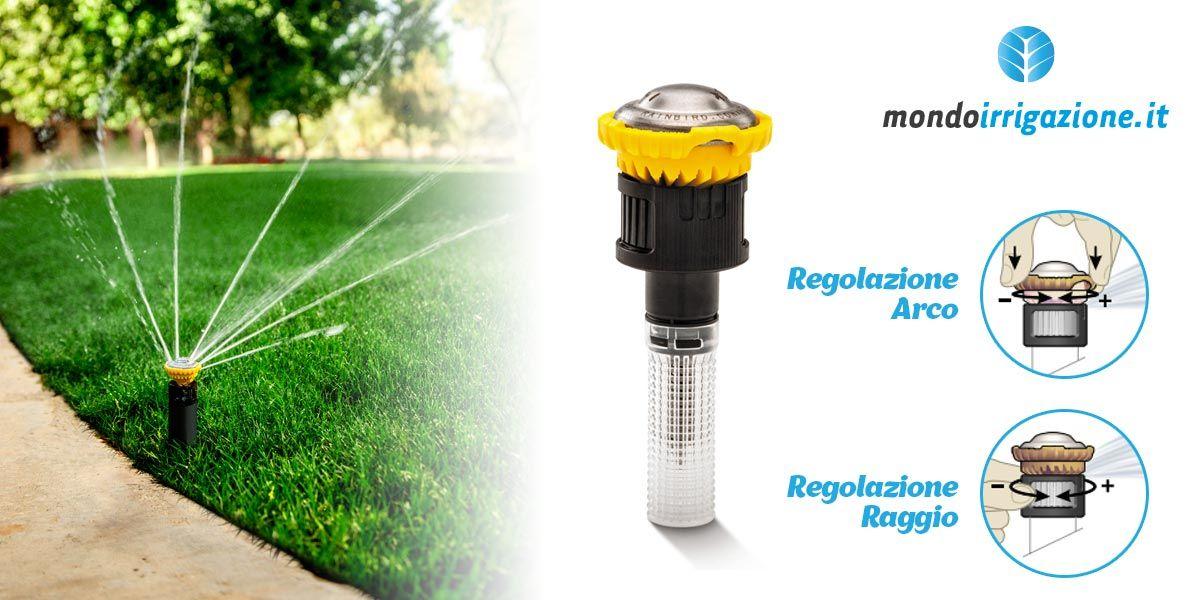 Irrigatori Statici E Dinamici Rain Bird. Regolare Gittata E Angolo
