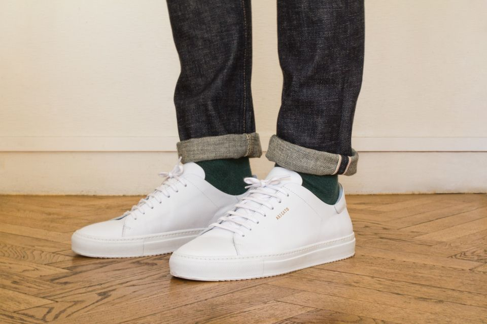 innovative design d4ba9 937e7 Baskets Blanches Axel Arigato  baskets  sneakers  clean  white  kicks  laces