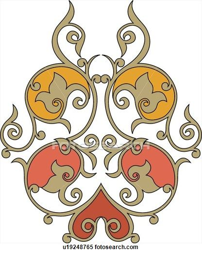 Arabesque Designs Page 6 Stock Illustration Clip Art Buy