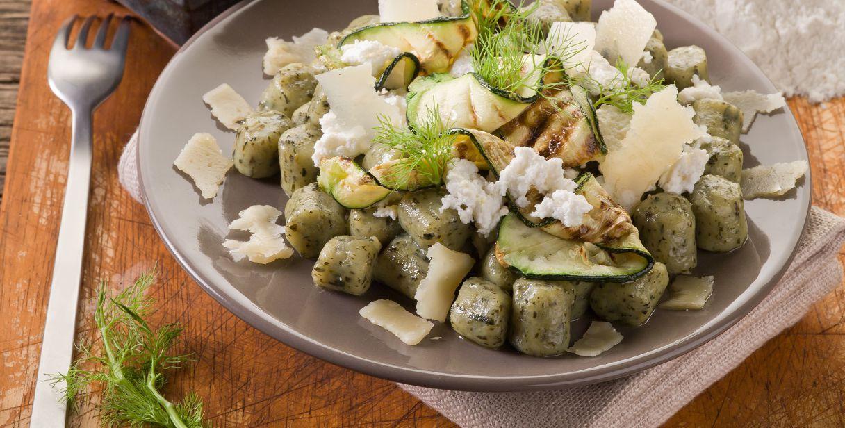 Gnocchi verdi alle zucchine - http://www.piccolericette.net/piccolericette/gnocchi-verdi-alle-zucchine/