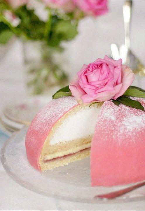 Sweedish Princess Cake Or Scandinavian Princess Cake Swedish Princess Cake Cupcake Cakes Food