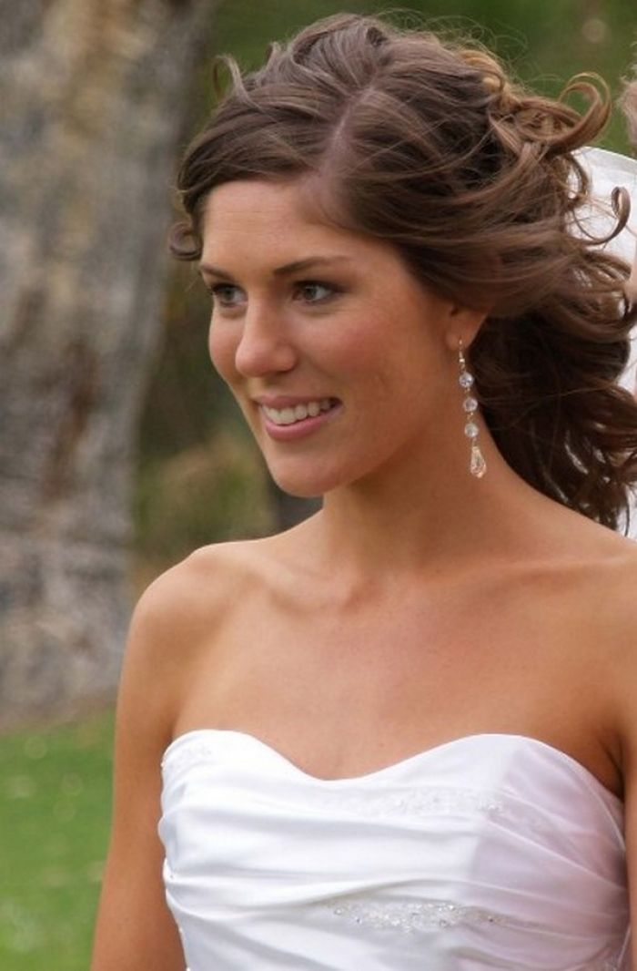 Curly Wedding Hairstyles for Medium Length Hair Curly Hairstyles