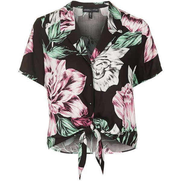 Floral Print Hawaiian Shirt By Kendall Kylie at Topshop ...