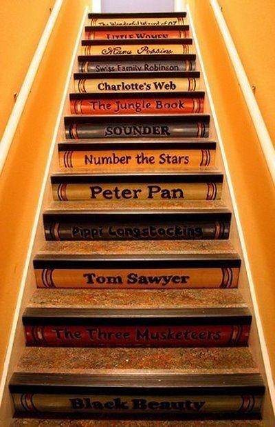 scala di libri