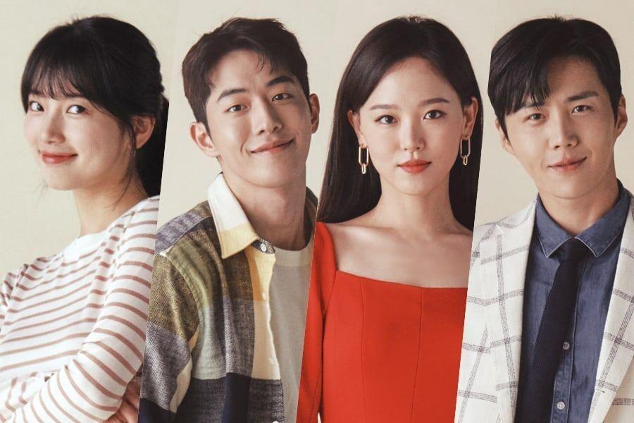 """Suzy, Nam Joo Hyuk, Kang Han Na, And Kim Seon Ho Give Insights Into Their """"Start-Up"""" Characters Through Posters"""