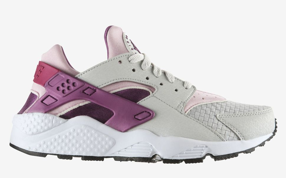 Huaraches Nike Grey And Pink