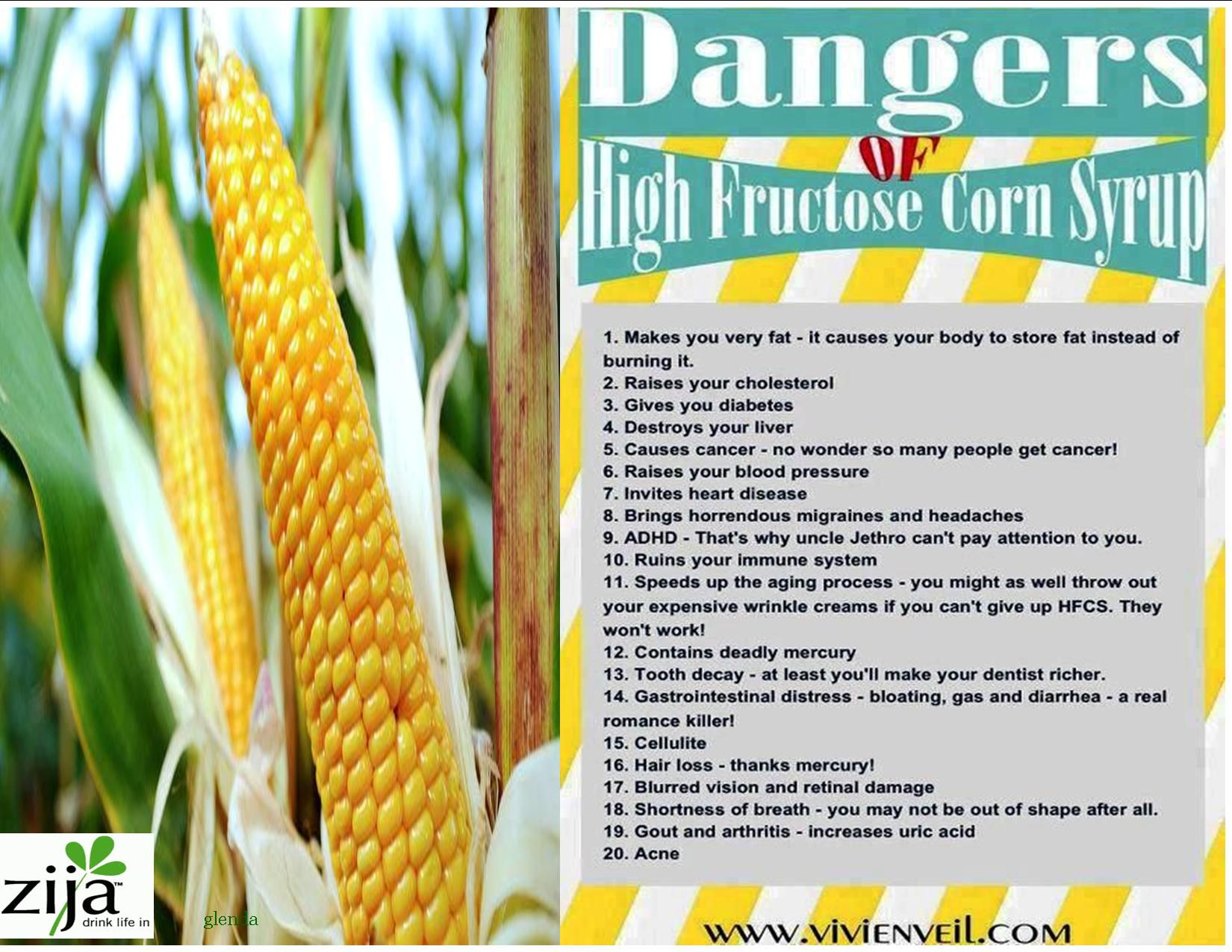 Dangers of High Fructose Corn Syrup | A.Zija | Pinterest