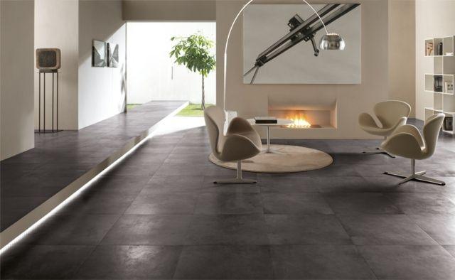 Carrelage salon design