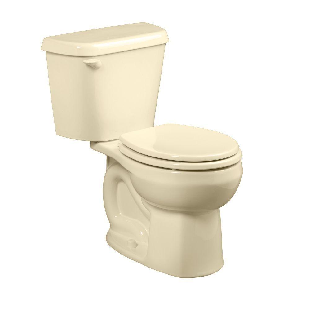 American Standard Colony 2 Piece 1 6 Gpf Single Flush Round Toilet
