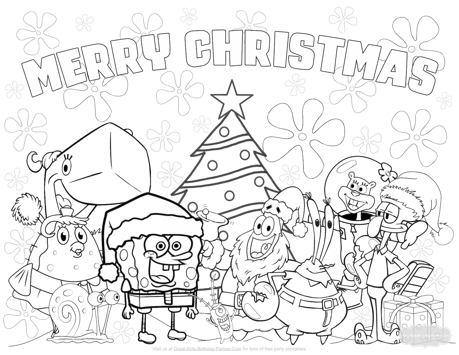 holiday coloring book pages - photo#41