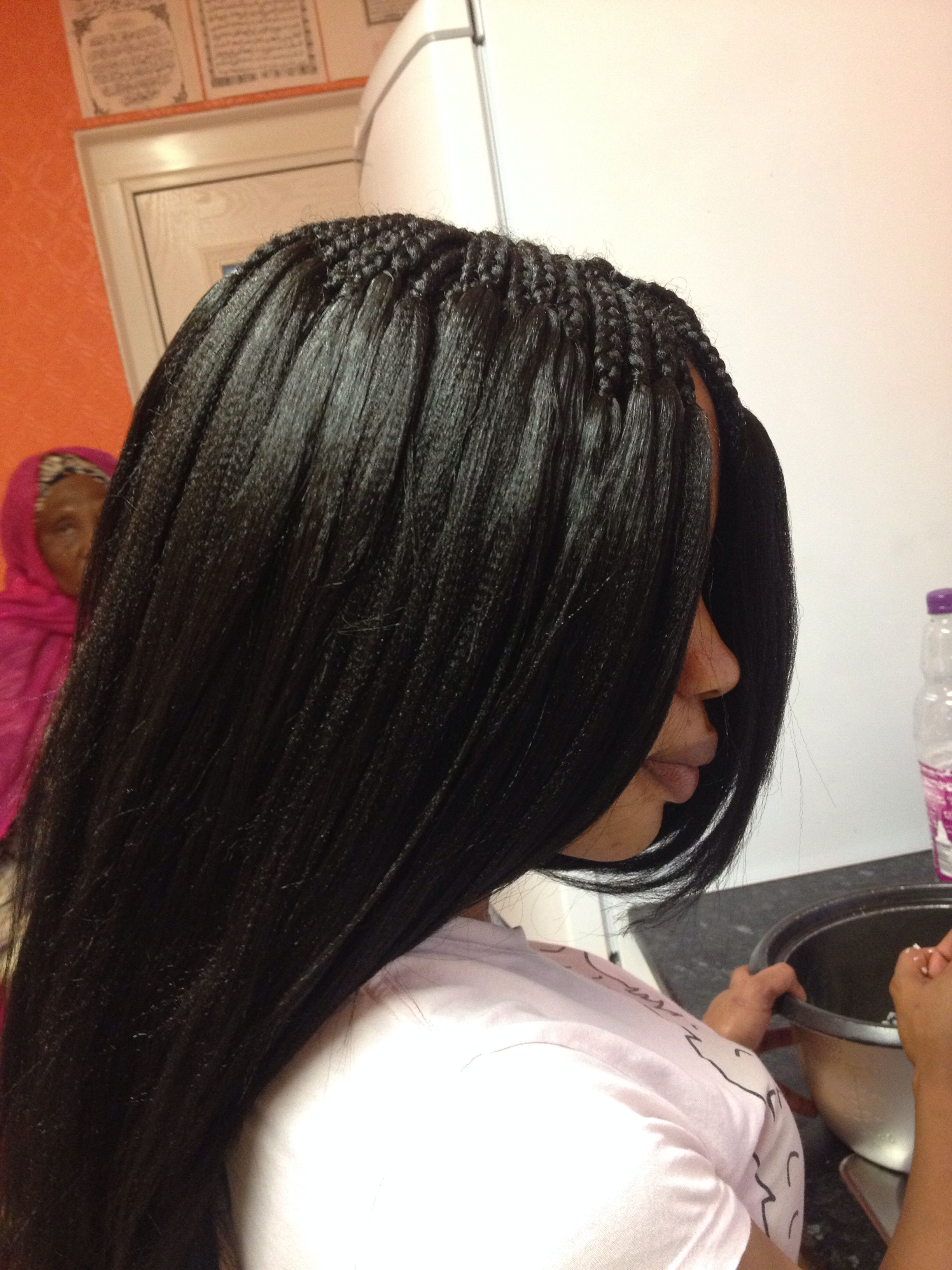 Expression Extensions Used For Thick Pick And Drop Braids