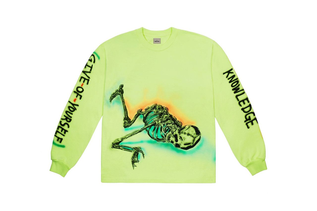 Kanye West Just Dropped New Wes Lang-Designed Longsleeves
