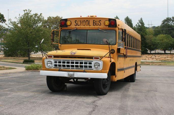 Ford School Bus 1962 1965 Ford Wane School Bus 5215 Antique