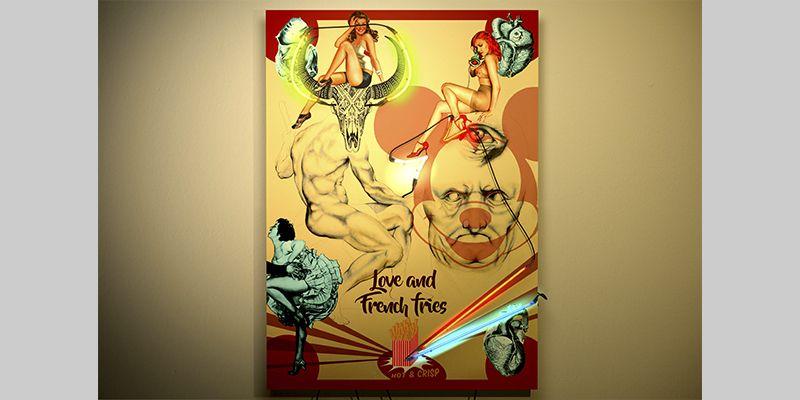 LOVE AND FRENCH FRIES. YENY CASANUEVA Y ALEJANDRO GONZALEZ. PROYECTO PROCESUAL ART