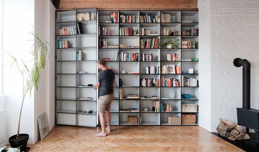 斯洛伐克 30 坪木質感書櫃牆住宅 - DECOmyplace 新聞