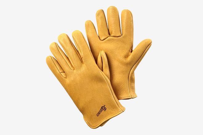 Glove Elkskin Unlined Work Leather Work Gloves Work Accessories Gloves