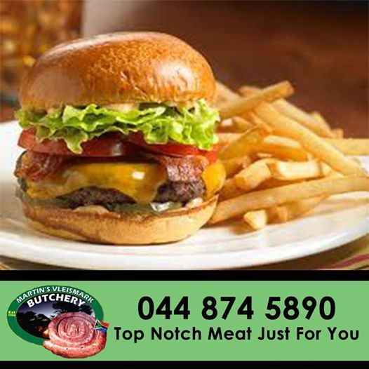 For that delicious homemade burger come down to Martin's Vleismark for top quality patties. #butchery #patties #martinsvleismark