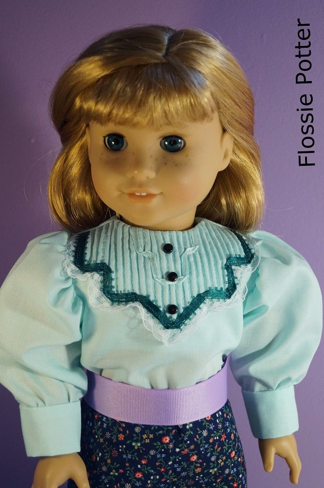 "Turn of the Century Shirtwaists 18"" Doll Clothes"