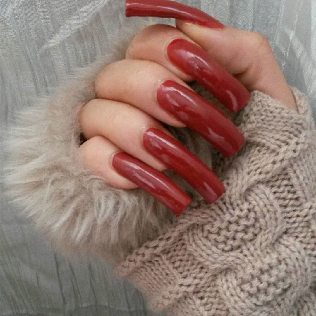 Red long nails | 1. Double Team + Dynamicpunch Amazing Powerful ...
