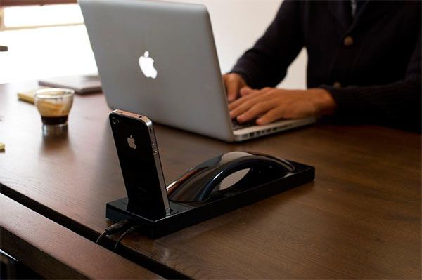 Bluetooth handset for iPhone...pretty cool