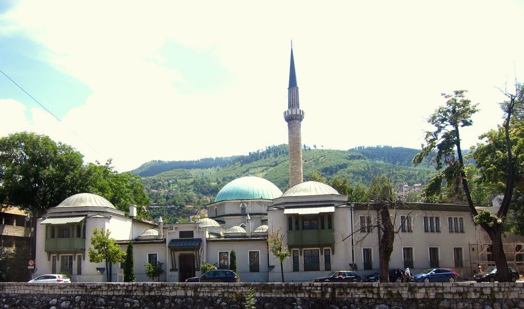 The Emperor's Mosque is the first mosque in Sarajevo, built in 1457 during the period when Ottoman Empire conquered of Bosnia.  Globetrotter: #TravelTips | Things To Do In Sarajevo, Bosnia and Herzegovina (Part 1)