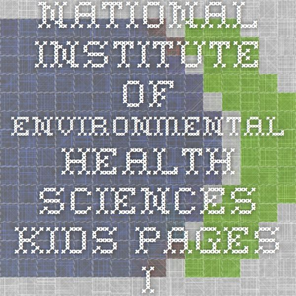 National Institute of Environmental Health Sciences - Kids Pages - I'm A Little Teapot