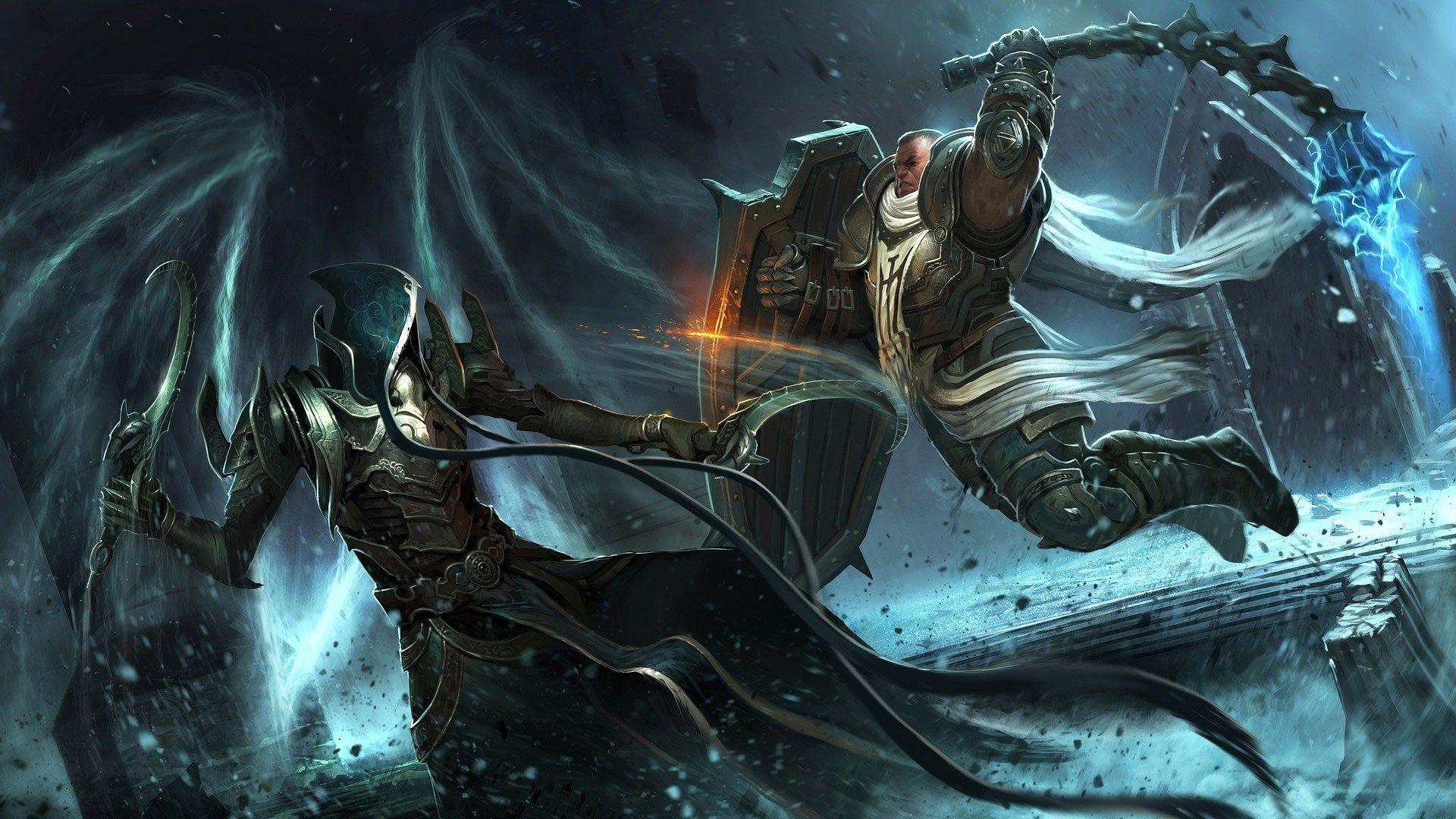 1920x1080 Diablo Iii Reaper Of Souls Game Wallpaper Diablo Art Wallpaper Blizzard Entertainment