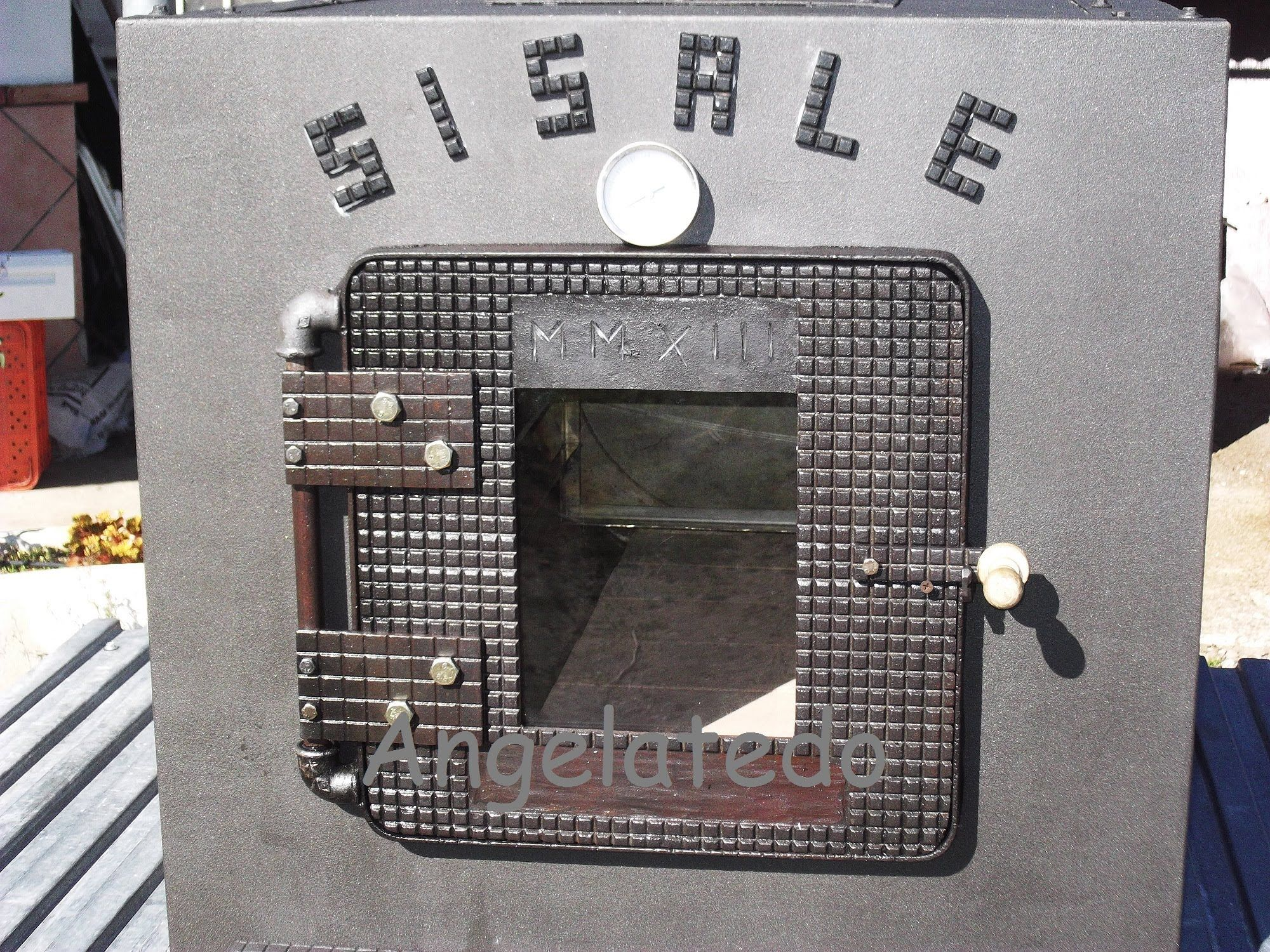 C mo hacer una puerta para horno de le a de hierro for Como hacer una puerta de metal