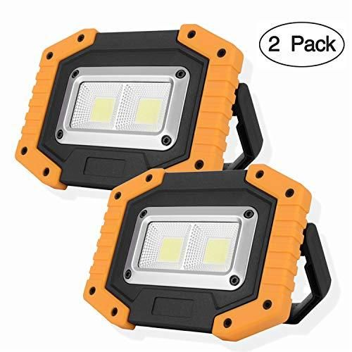 Otyty 2 Cob 30w 1500lm Led Work Light Rechargeable Portable Waterproof Led Flood Lights For Outdoor Camping In 2020 Waterproof Led Led Flood Lights Led Flood