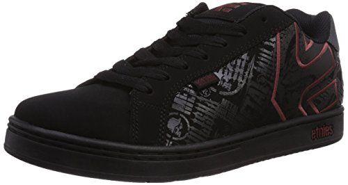 Fader LS, Chaussures de Skateboard Homme, Noir (Black/Charcoal/Gum), 45 EUEtnies
