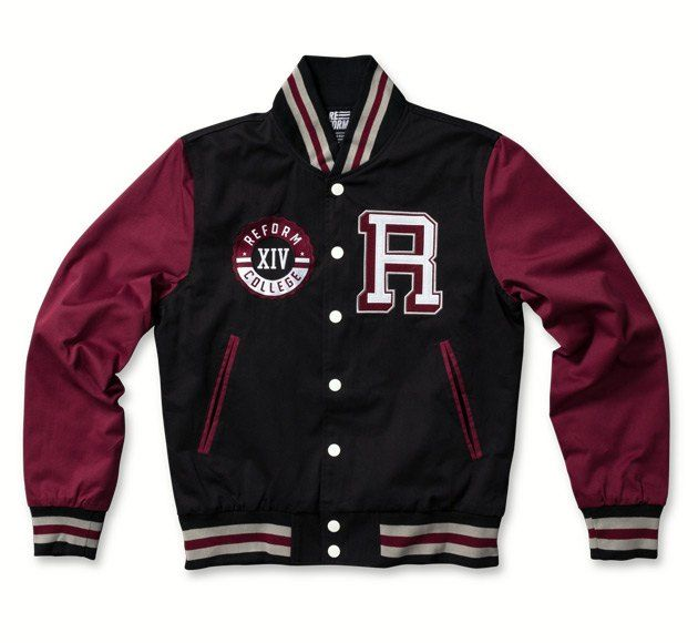 Check This Out From Reform Clothing Co Original Custom Letterman Jackets Jackets Men Fashion Custom Varsity Jackets Varsity Jacket Men