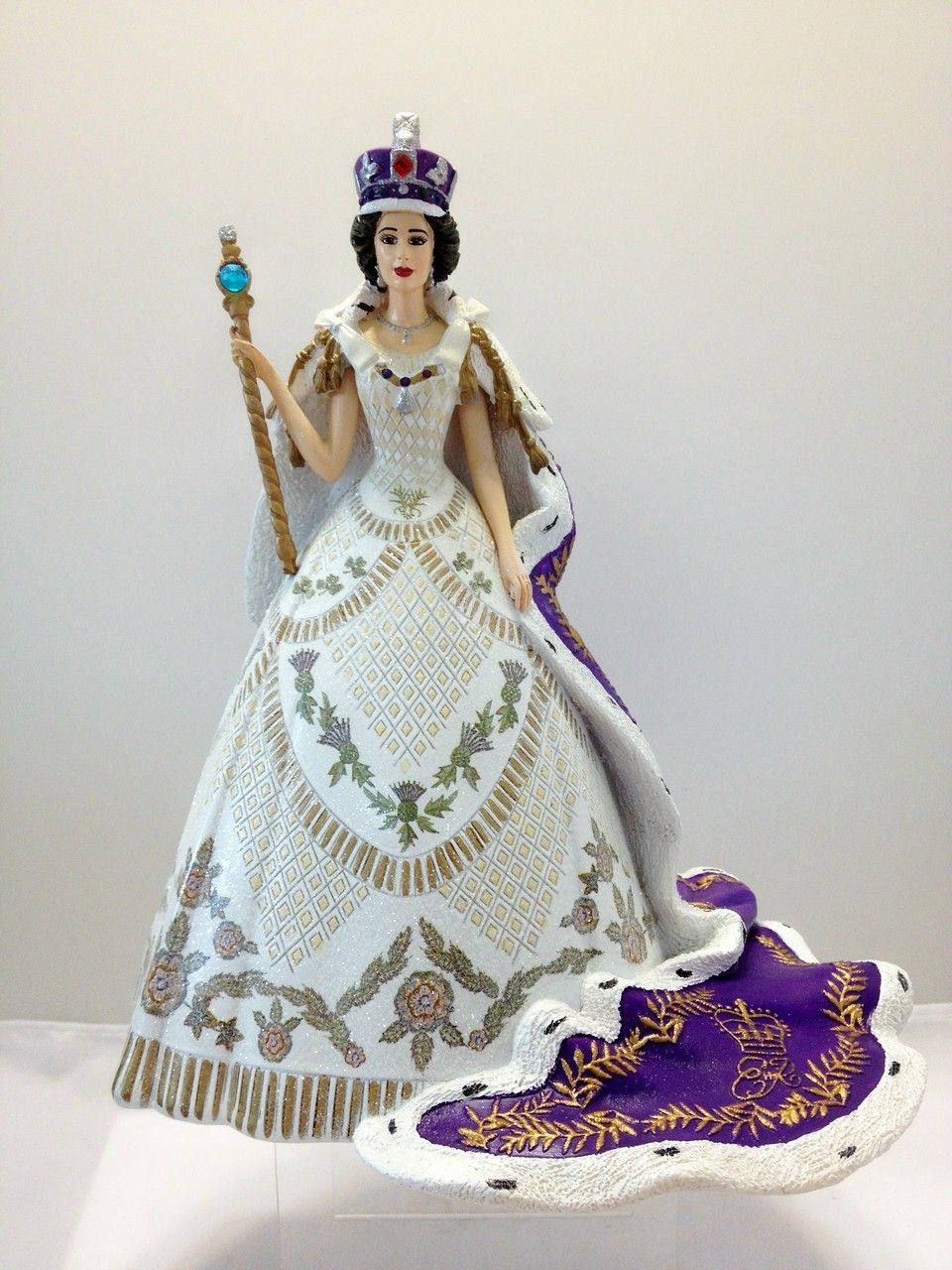 Queen Elizabeth coronation figurine | Royal Figurines ...