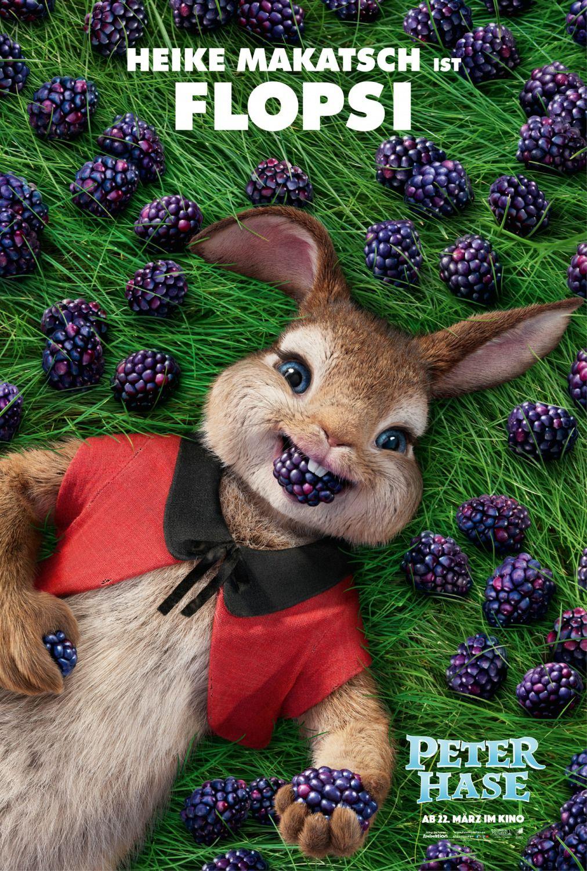 Peter Rabbit Movie Poster 6 うさぎ イラスト かわいい ピーター