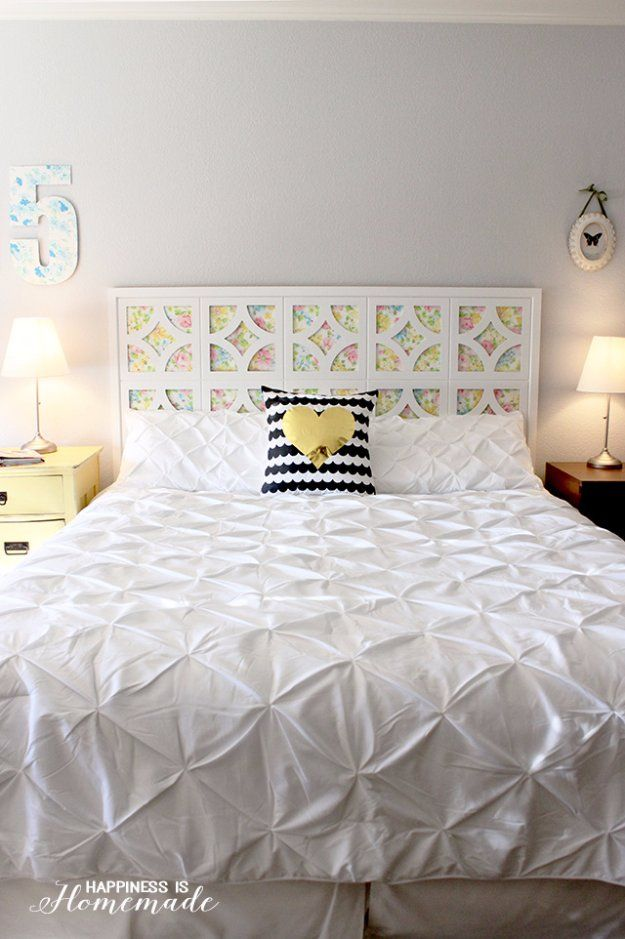 31 fabulous diy headboard ideas for your bedroom cabeceros hogar 31 fabulous diy headboard ideas for your bedroom solutioingenieria Image collections