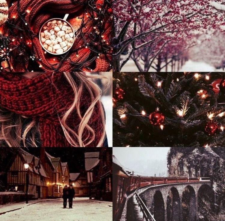 Christmas Hogwarts Tumblr Christmas Aesthetic Christmas Aesthetic Wallpaper Cozy Christmas