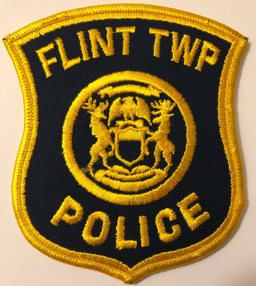 Flint Township Michigan Police Patch Police patches