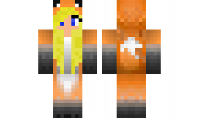 minecraft skin Girl-in-fox-costume-2 Check out our YouTube   sc 1 st  Pinterest & minecraft skin Girl-in-fox-costume-2 Check out our YouTube : https ...