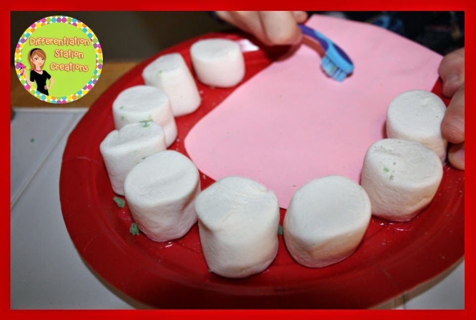 Hands-On Dental Health Activities: Differentiation Station Creations