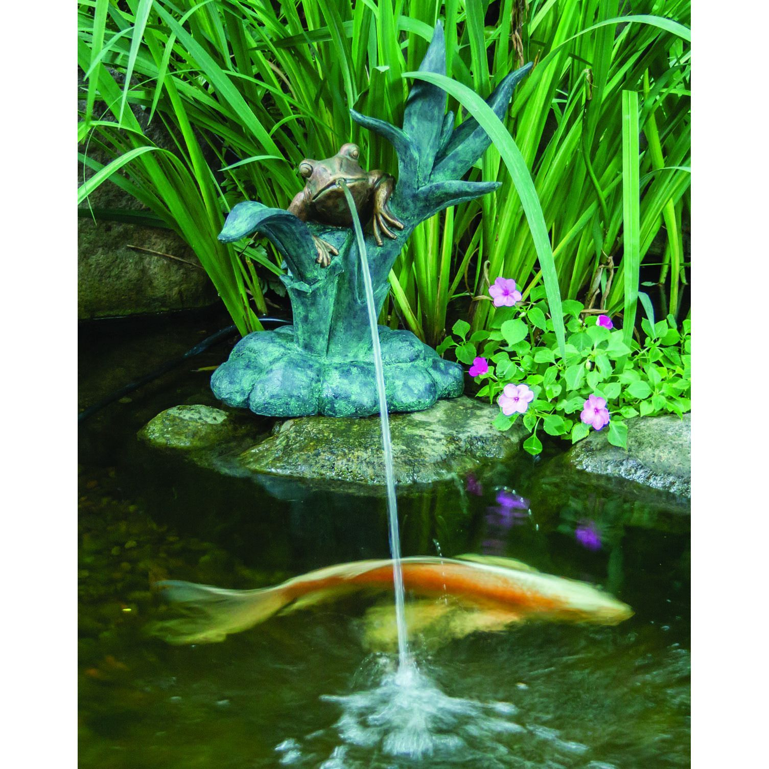 Add A Unique Addition To Your Water Feature With This Decorative Spitter  Fountain. All Aquascape