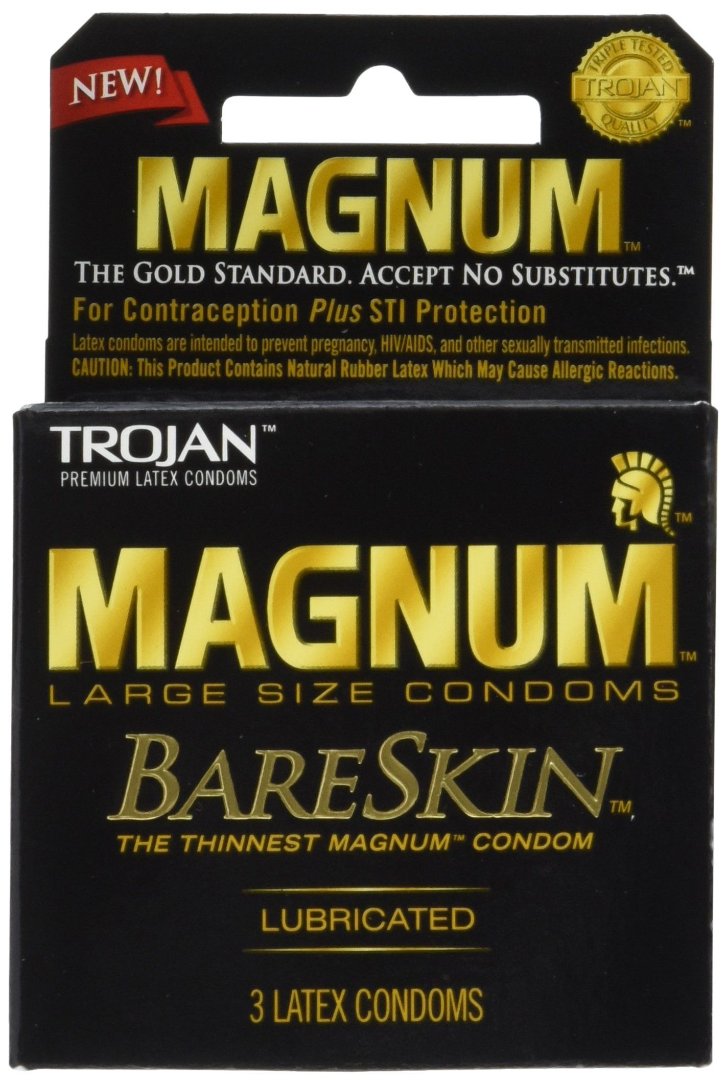 Trojan Magnum Bareskin Lubricated Condoms 3 Count Pack Of 6 Check Out The Image By Visiting The Link This Is An Aff Magnum Bareskin Condoms Trojan Condoms