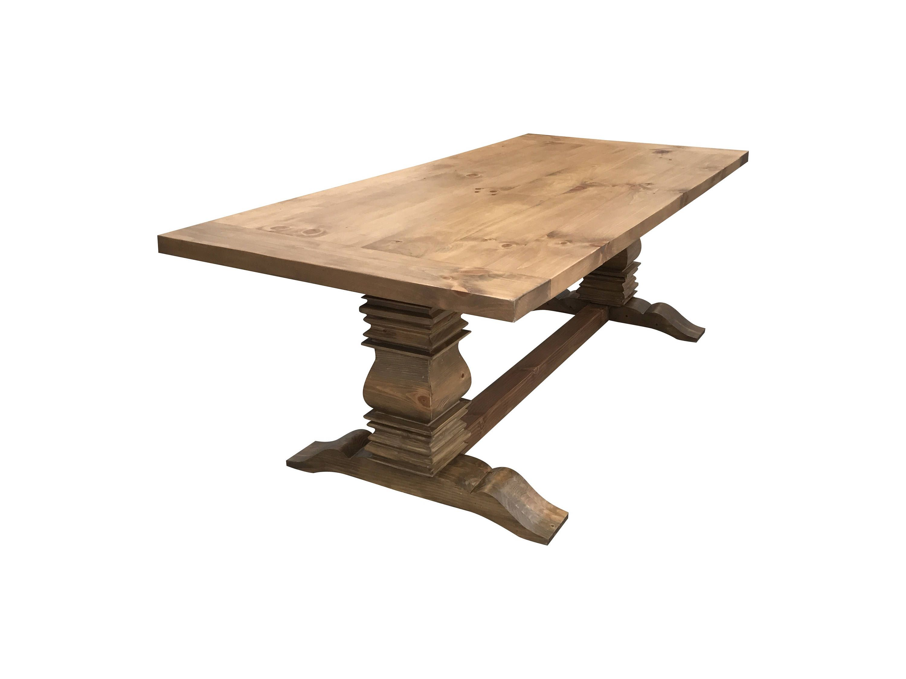 Natural Berkley Farmhouse Table by OnPointWoodDesign on Etsy ...