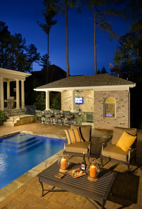 Southern Outdoor Living - Pool Designs - Decorating Ideas ... on Southern Pools And Outdoor Living id=28195
