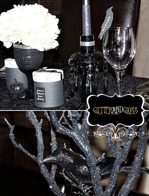 Nightmare Before Christmas Wedding Shower! wedding stuff