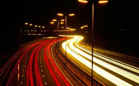 Motorway lights to be turned off to cut carbon. Some councils expect to save hundreds of thousands of pounds by turning off lights at night or converting them to dimmer switches.