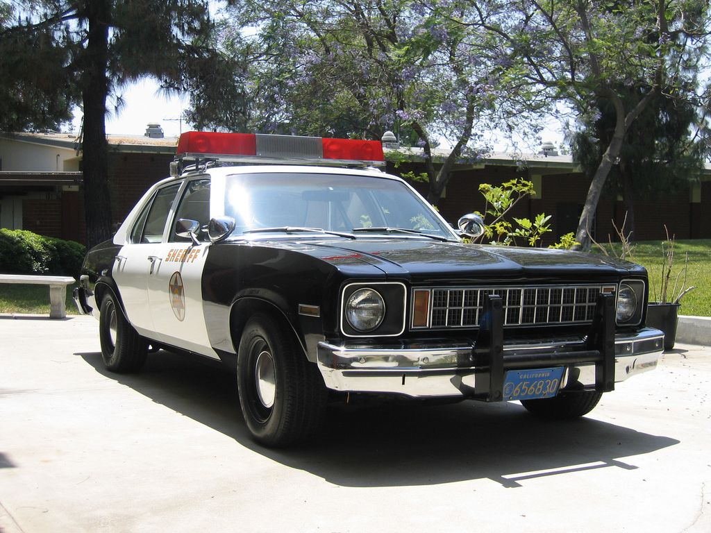 Chevy Nova Police Car Los Angeles County Sheriff 1976 To 1980